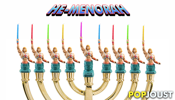 PopJoust Presents Pop-Menorahs