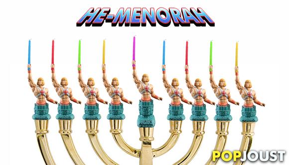 PopJoust Presents Pop-Menorahs