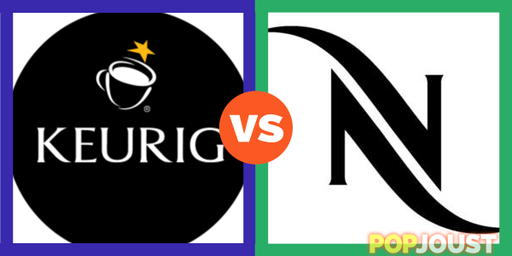 Keurig vs Nespresso  Which is the better bad coffee?  Vote @PopJoust -> Nespresso Vs Keurig
