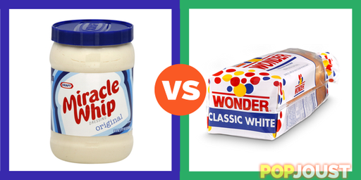 Miracle Whip Vs. Wonder Bread