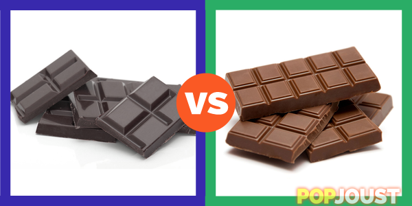 milk chocolate vs dark chocolate essay