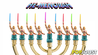 PopJoust Presents PopMenorahs