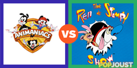 Which has the more hilarious cartoon characters