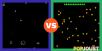 Which is the better retro arcade game