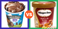 Who makes the better ice-cream