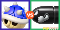 Which is the more powerful Mariokart weapon
