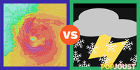 Which is the more bad-ass sounding weather term