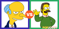 Who039s the better Harry Shearer Simpsons character