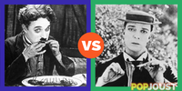 Who was the better silent film era comedian