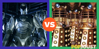 Which is the more powerful Dr. Who enemy