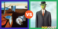 Which is the better surrealist painting