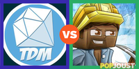 TheDiamondMinecart Vs JackFrostMiner