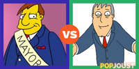 Who is the better cartoon mayor