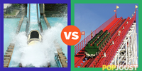 Which is the better amusement park ride