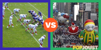 Which is better to watch on Thanksgiving