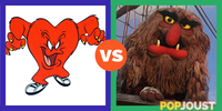 Who is the more lovable giant furry monster