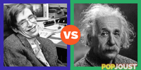 Who is the greater theoretical physicist