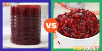 Which is the better cranberry sauce