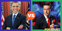 Who is the better host of The Colbert Report