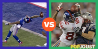 Which was the more epic touchdown catch