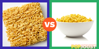 Which is the better cheap food