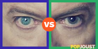 Which is David Bowie039s better eye