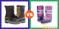 Which are the better footwear for deep snow