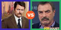 Who has the better moustache